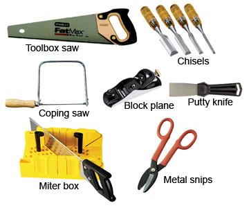 carpenter tools list